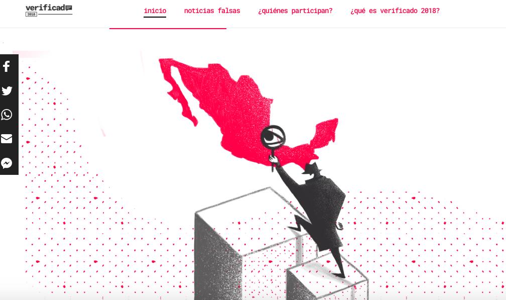 Facebook combate fake news en México