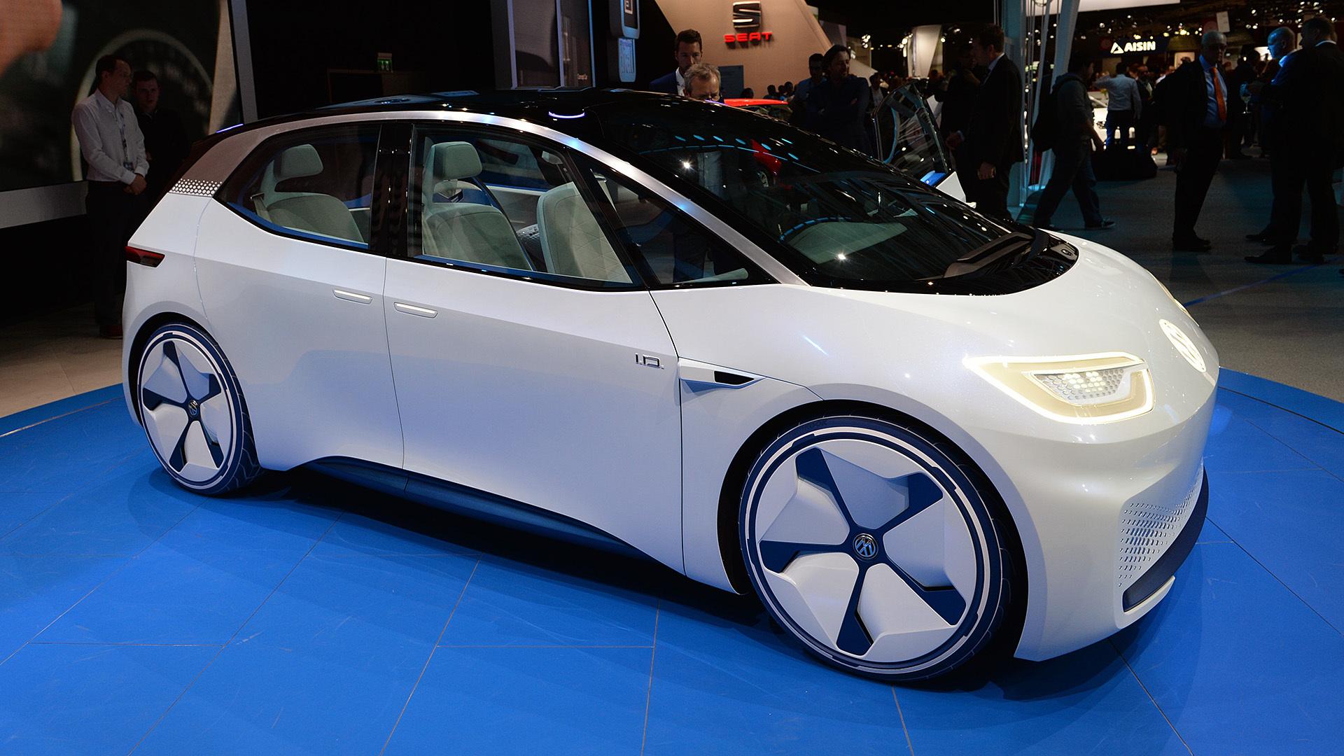 フォルクスワーゲンの新型電気自動車「I.D.」は、テスラの「モデル3」より安くなる!