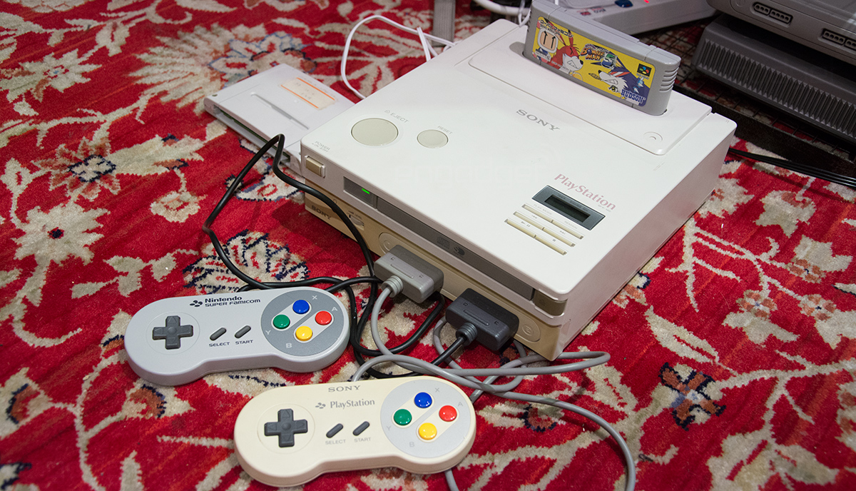 We turned on the Nintendo PlayStation: It\'s real and it works