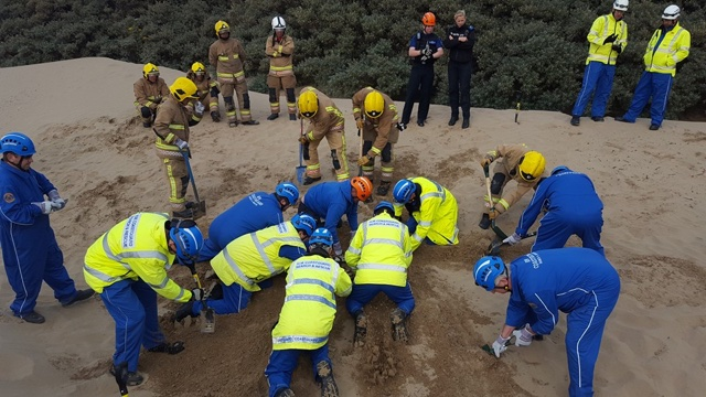 Children warned not to dig holes on beaches during summer holidays
