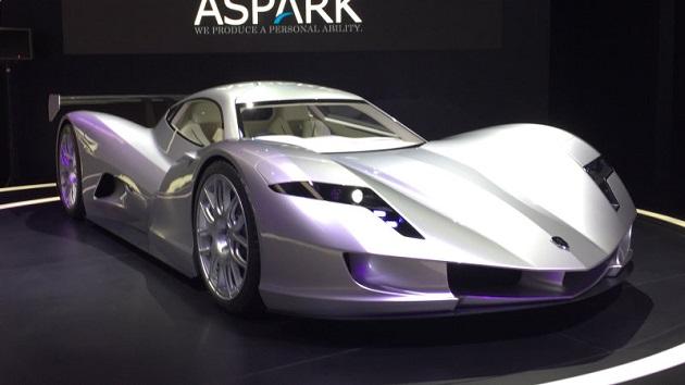 日本企業のアスパークが電動スーパーカー「Owl」を発表 0-100km/h加速2秒、価格は4億6,000万円!