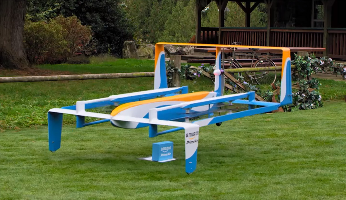 Amazon And Jeremy Clarkson Hint At The Future Of Delivery Drones