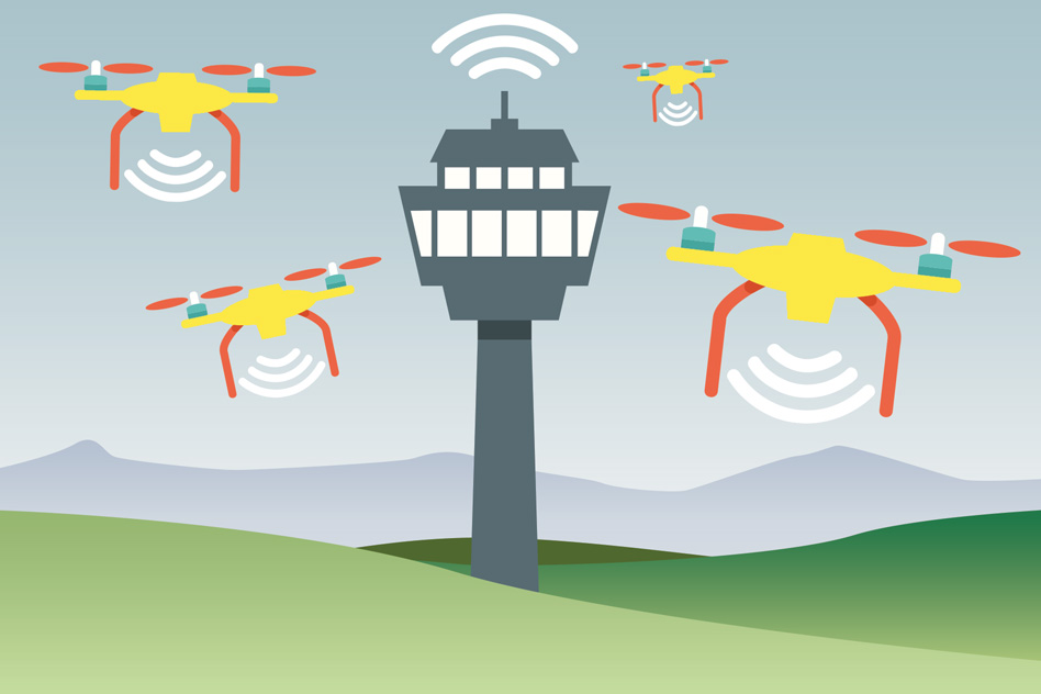 A new algorithm developed by MIT researchers helps keep data fresh within a simple communication system, such as multiple drones reporting to a single control tower.