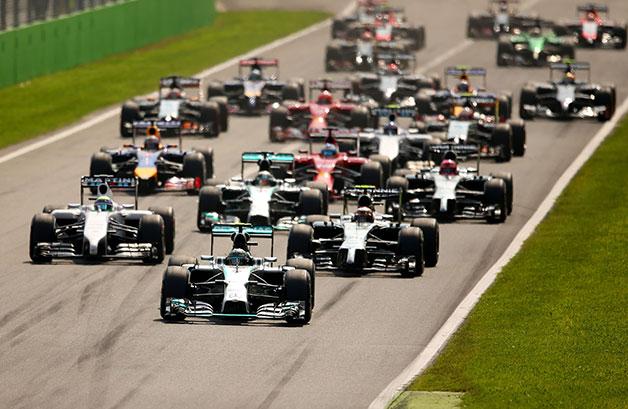 The 2014 Italian Grand Prix.