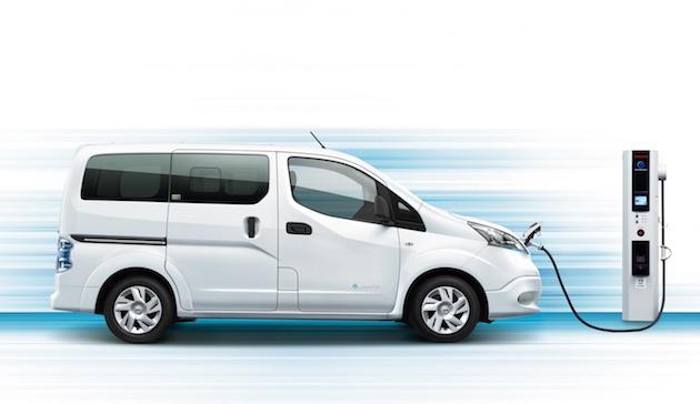 日産の電気商用車「e-NV200」が仕様向上 40kWhの大容量バッテリーを採用