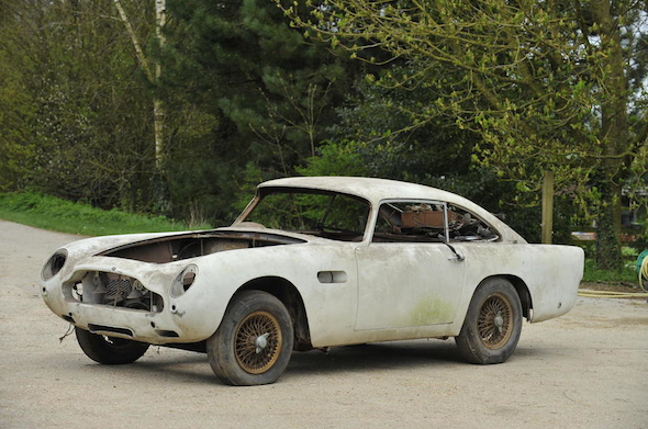 World's cheapest Aston Martin DB5 up for auction - AOL