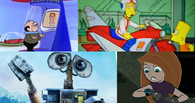 inventions in animated movies and tv shows