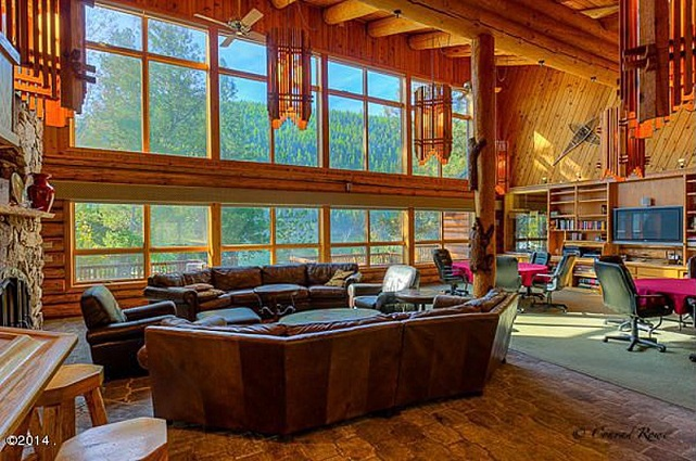 great room lodge on salmon lake