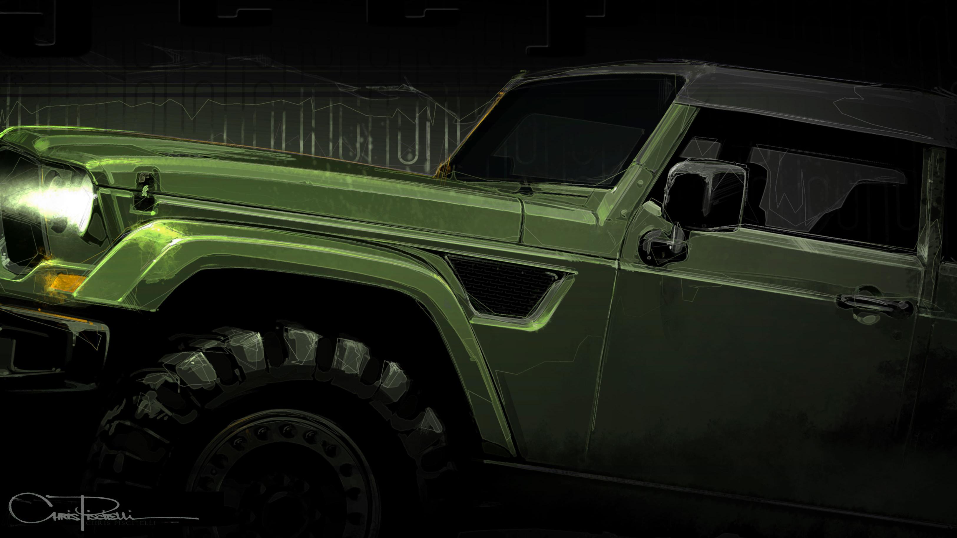 Jeep Crew Chief Concept