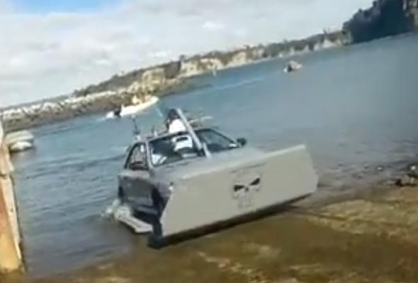 Amphibious Subaru Impreza