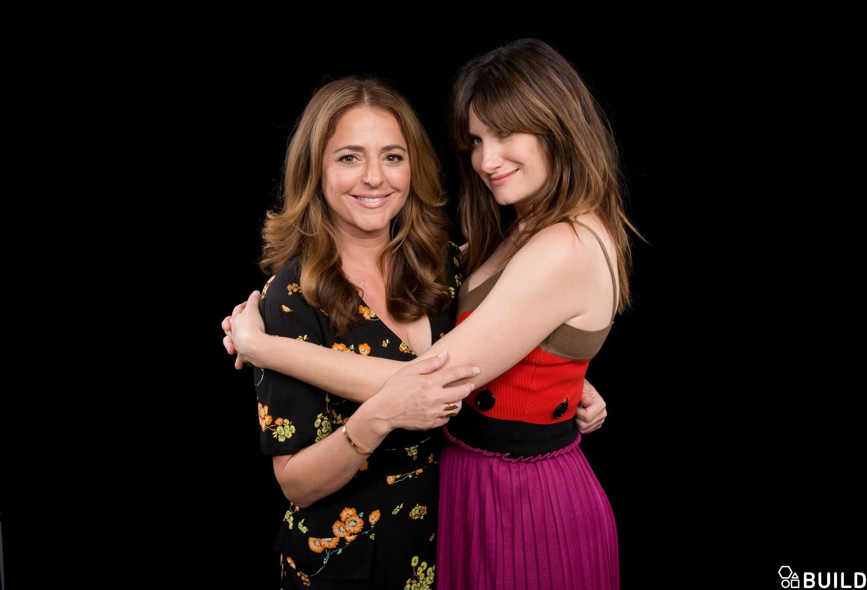 Kathryn Hahn and Annie Mumolo visit AOL Hq for Build on July 19, 2016 in New York. Photos by Noam Galai