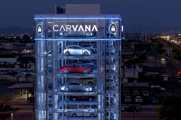 【ビデオ】これが巨大なクルマの自動販売機! コインを入れてボタンを押し、商品が出てくるのを待つだけ