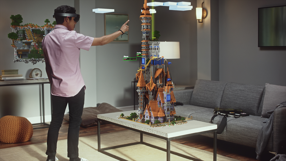 xbox one hololens