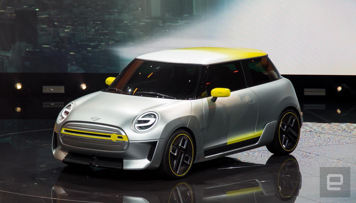 BMW zeigt den elektrischen Mini