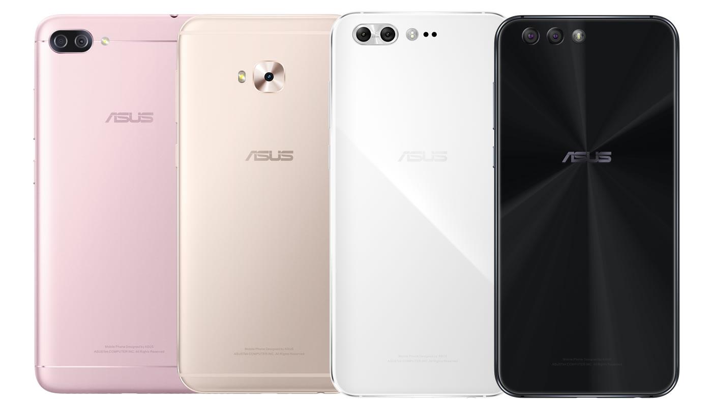 華碩發表全新 ZenFone 4 家族