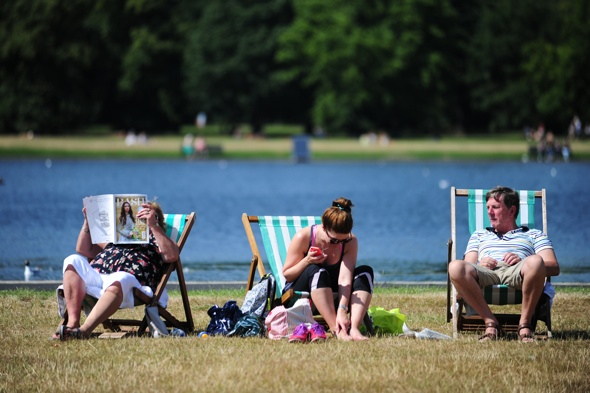 UK weather: Heatwave to continue this week with temps of 31C