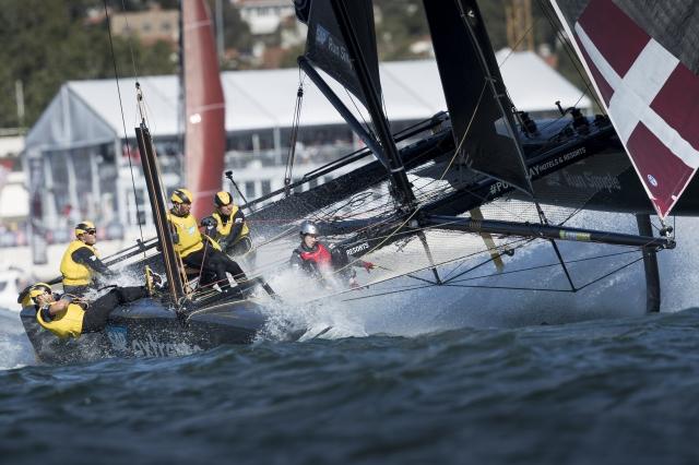 Guest Sailor at Extreme Sailing Series
