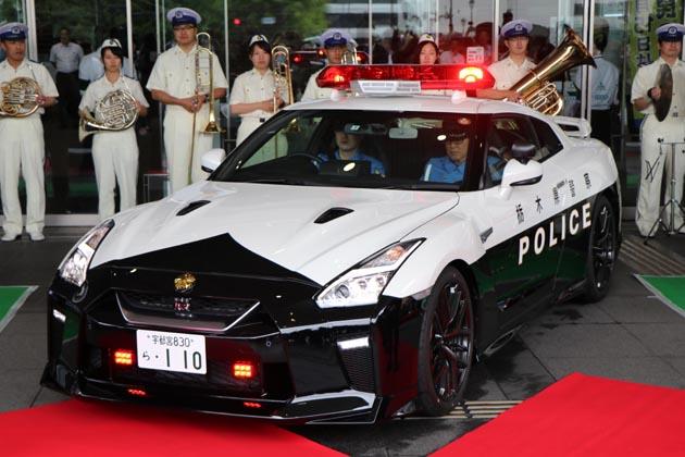 国内最強のパトカーとなるか!? R35型日産「GT-R」のパトカー栃木県警に国内初配備!!