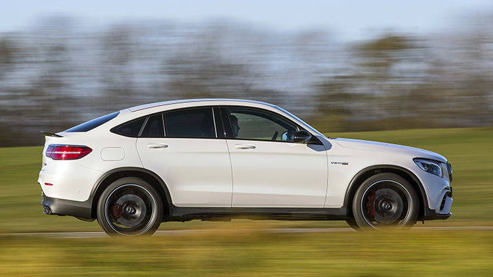 2018 Mercedes-AMG GLC 63 S Coupe
