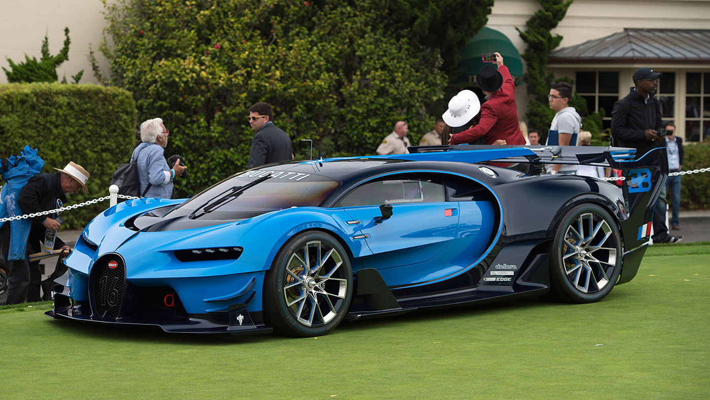 The 2016 pebble beach concept lawn was nuts as always - Pebble beach car show ...