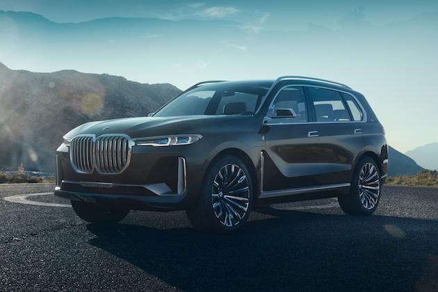 BMW、フラッグシップSUVとなる「X7 iPerformance」のコンセプトを発表 2018年には市販化予定