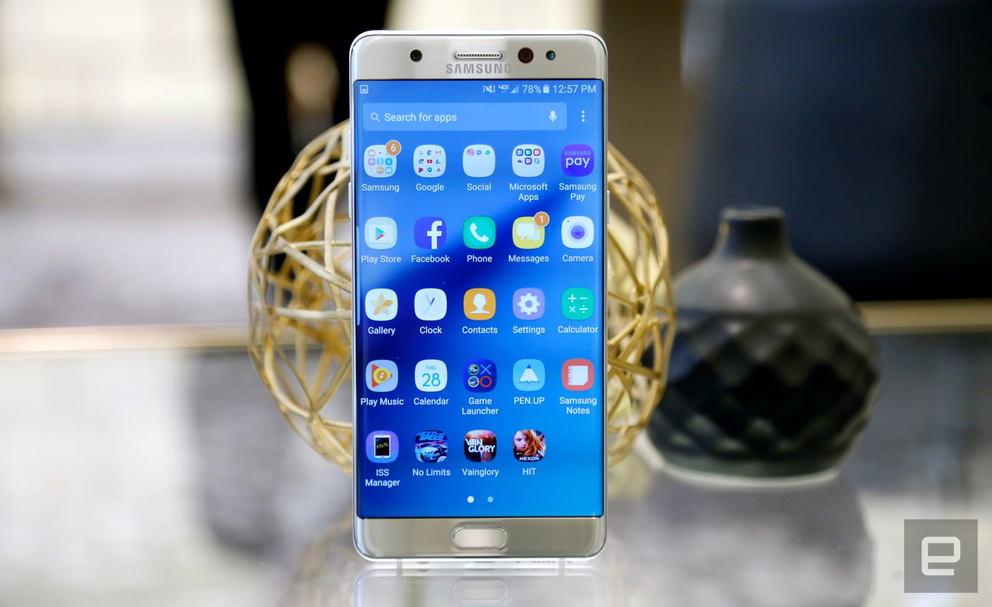 Samsungs Big Beautiful Galaxy Note 7 Lands August 19th
