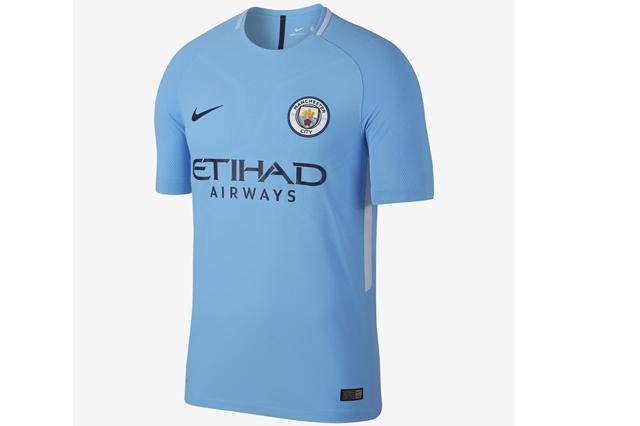 Manchester City home shirt 2017/18