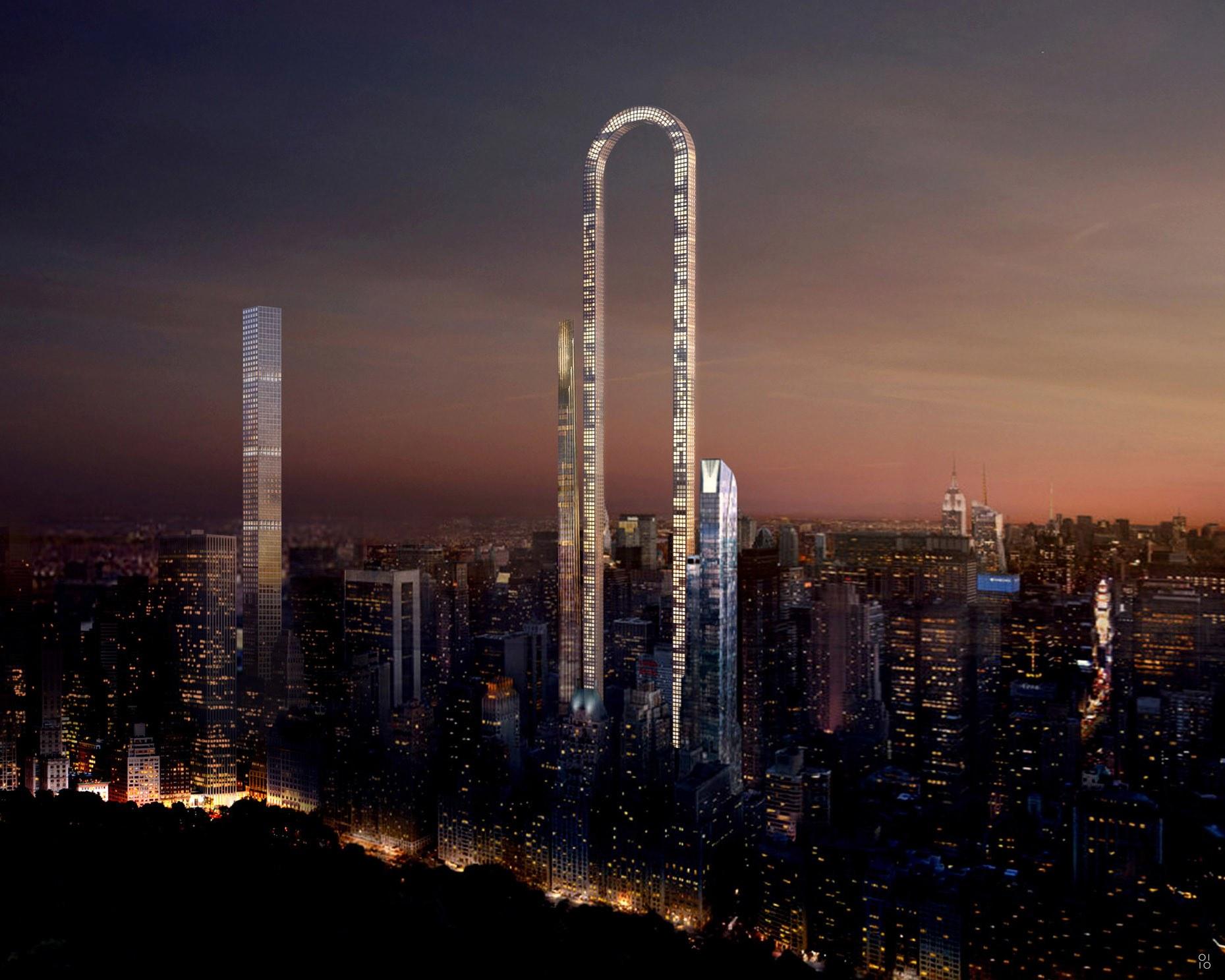 Big Bend Skyscraper in NYC
