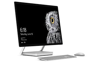 Surface Studio is Microsoft's first all-in-one desktop