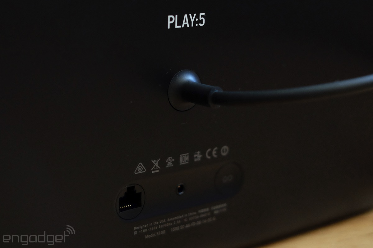 Sonos Play:5 ports