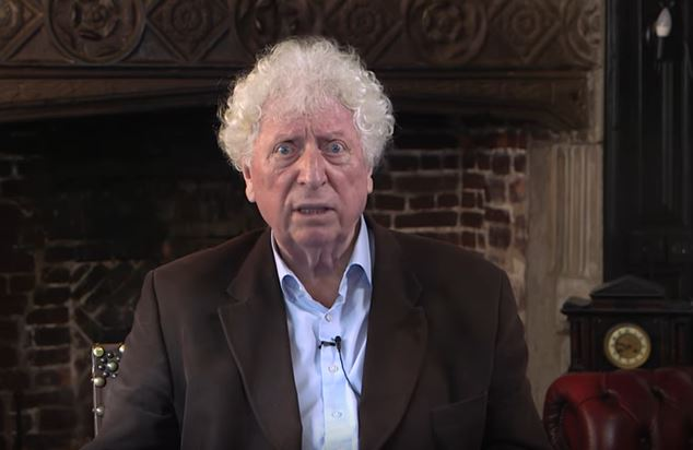 Doctor Who star Tom Baker is back as the Time Lord
