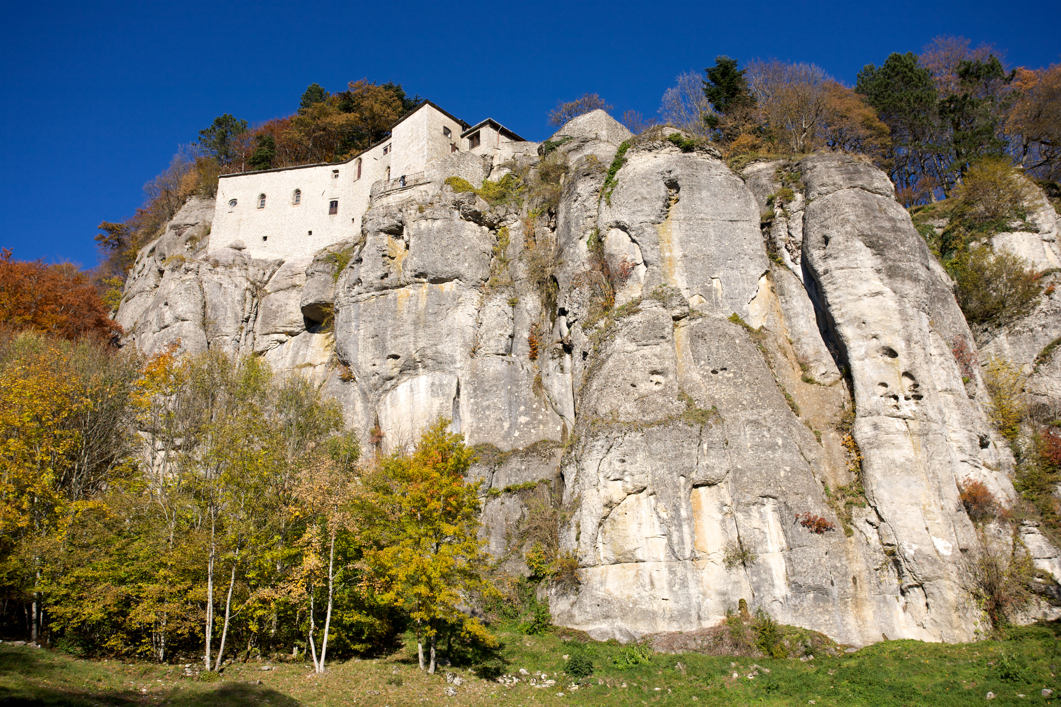 The Famous Franciscan Sanctuary of La Verna. Tuscany.