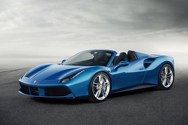 フェラーリ、新型ミドシップ・オープン「488 スパイダー」を発表