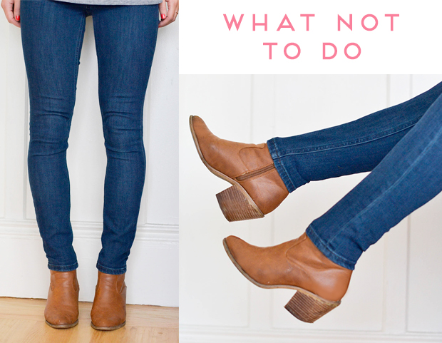booties with jeans