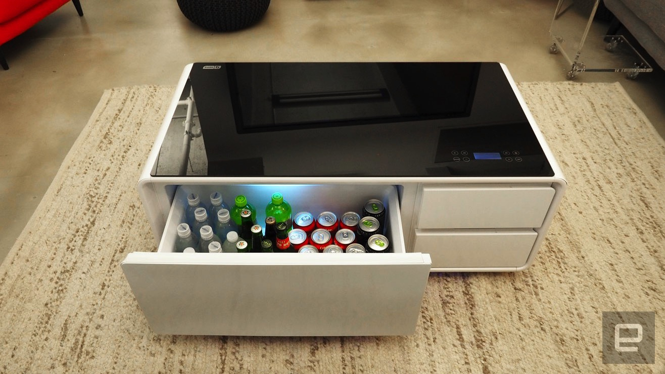 SOBRO: The smart coffee table for cold beers and chill tunes