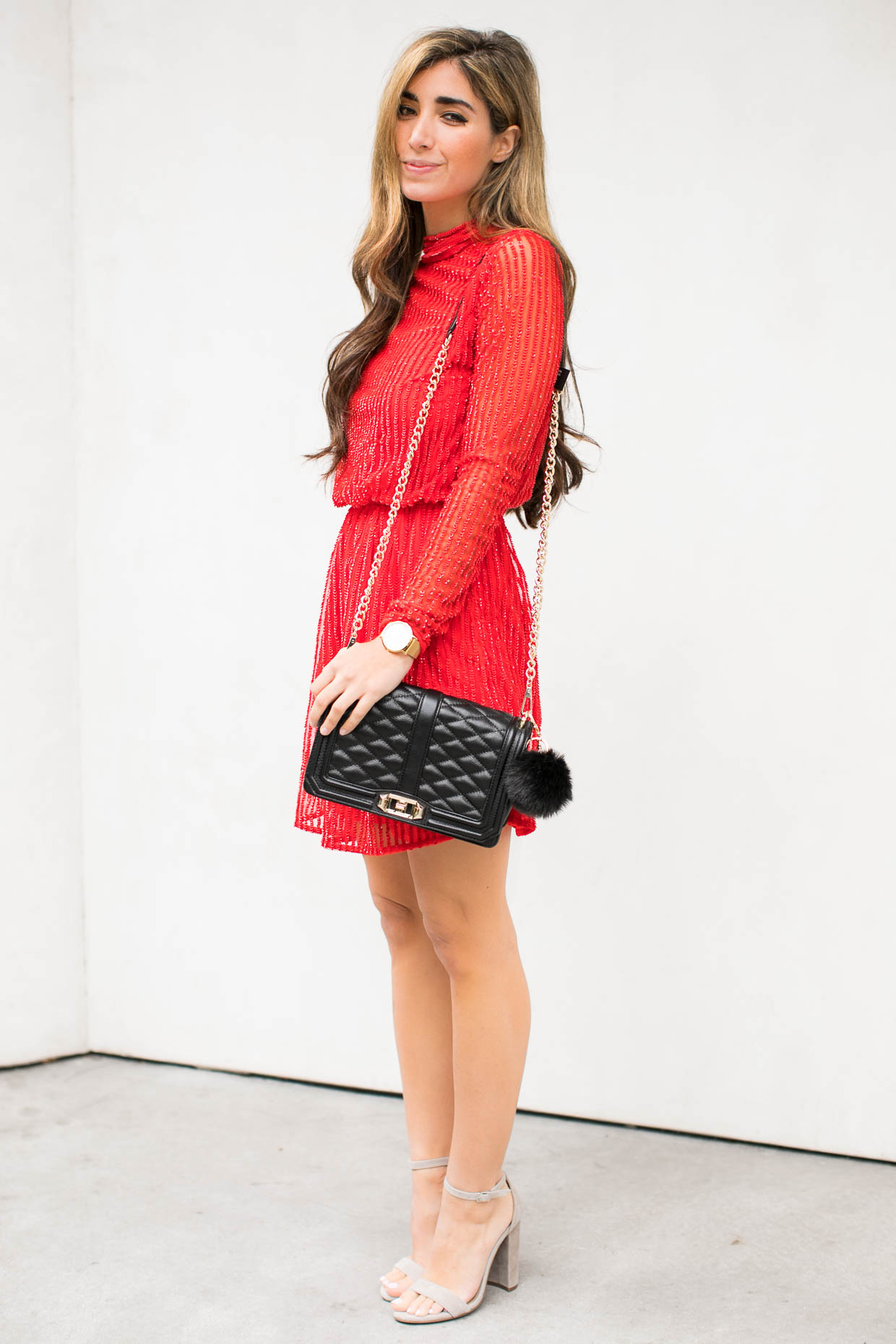 Holiday red dress outfit - AOL Lifestyle