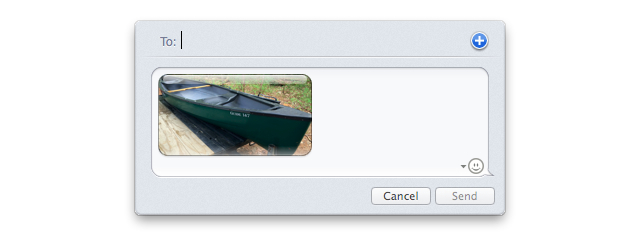 Messages OS X