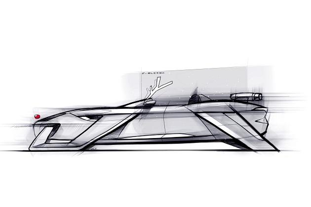 ジャガー、トナカイに替わってジェット・エンジンで走るソリ「F-SLEIGH」を発表!