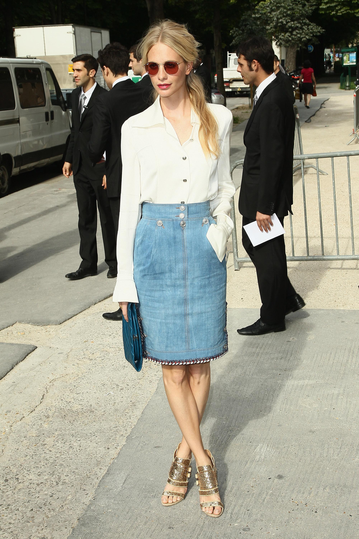 Chanel: Arrivals - Paris Fashion Week Haute Couture F/W 2012/13