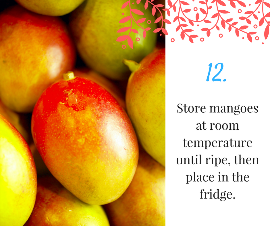 Here's How To (Properly) Store Your Fruit And