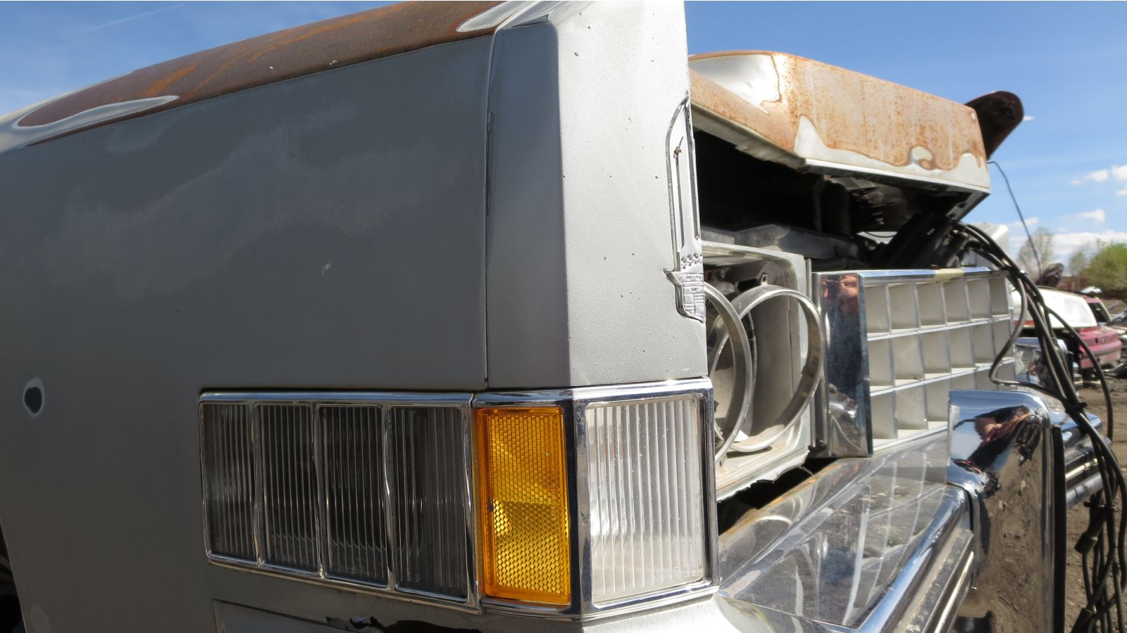 1973 Cadillac Eldorado in Denver Junkyard