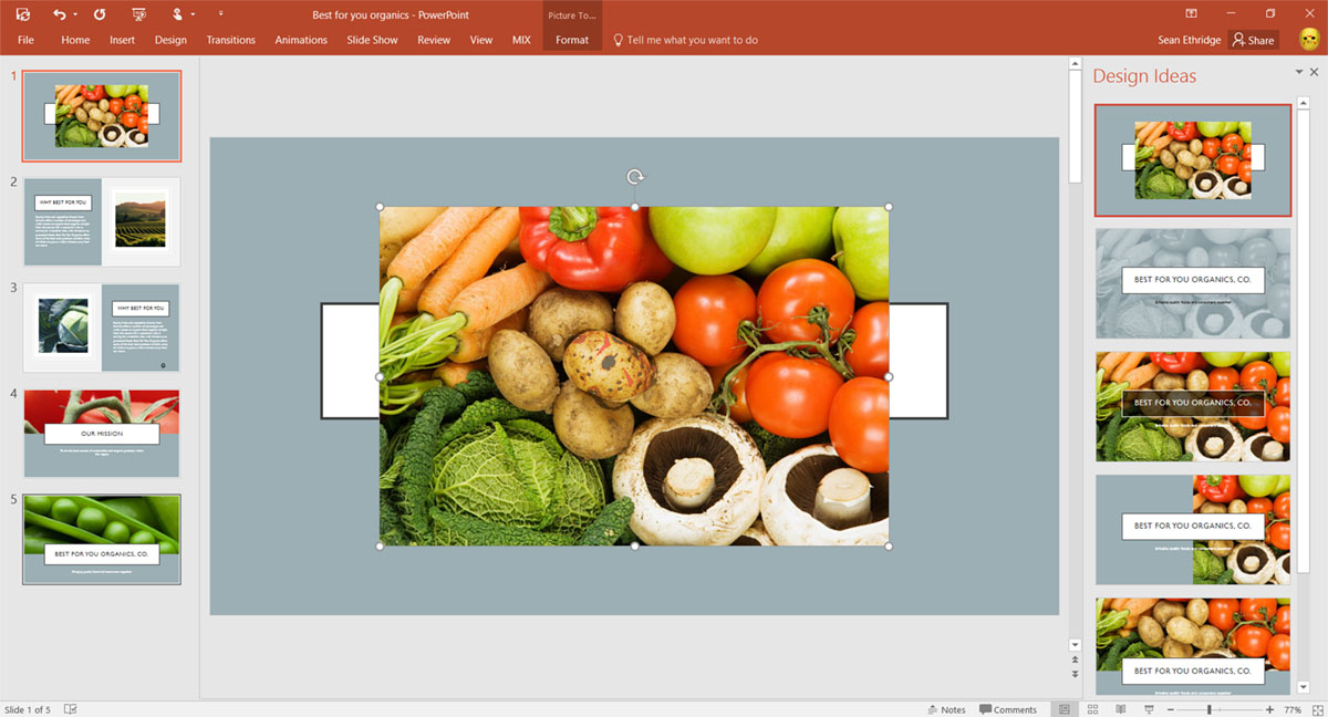 Powerpoint spruces up your presentation using image recognition toneelgroepblik Gallery