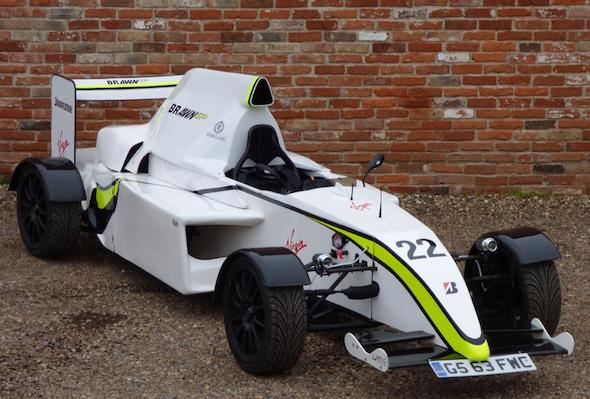 Replica Brawn F1 car