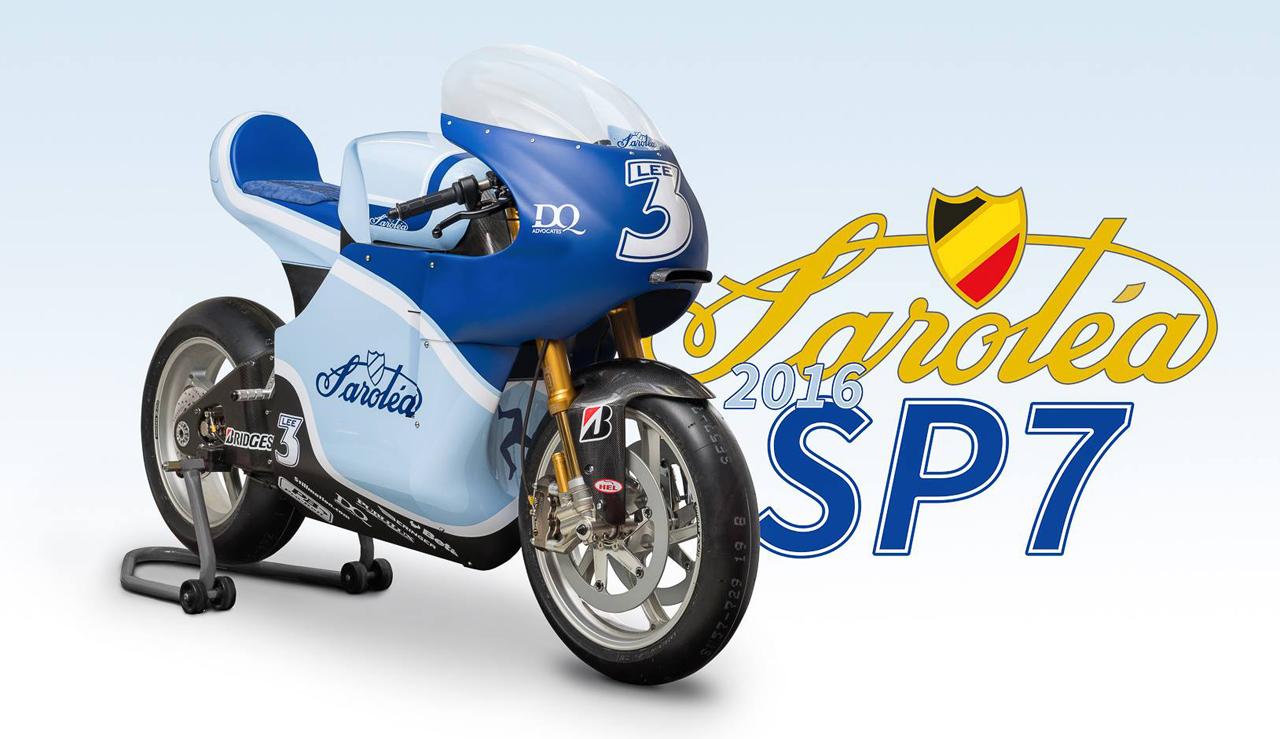 2016 Sarolea SP7 electric motorcycle