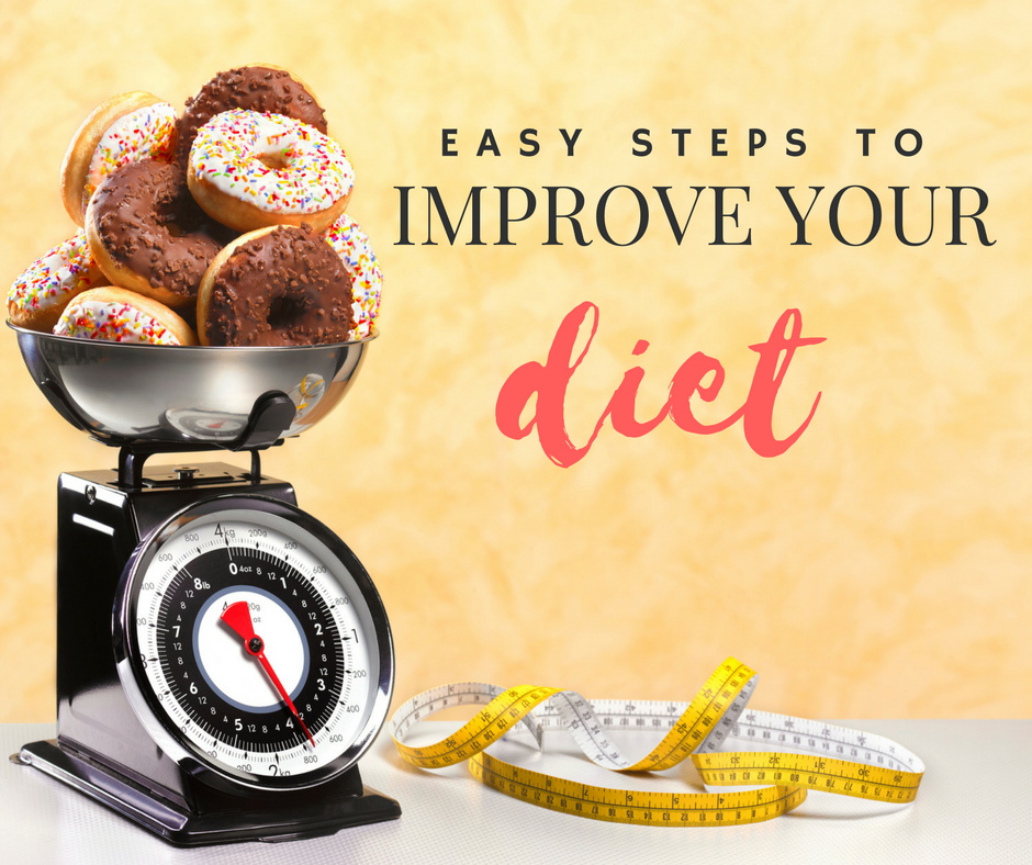 Take These Small, Easy Steps To Improve Your Diet -- Right
