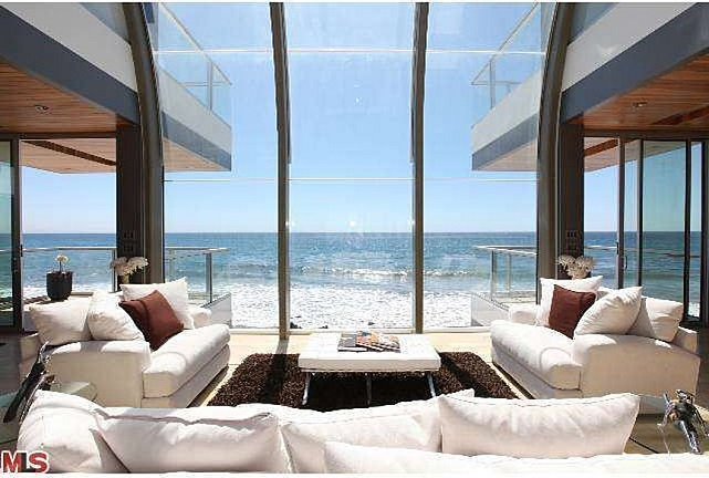 ocean view malibu beach house satc
