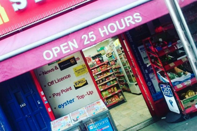 Unusual opening hours