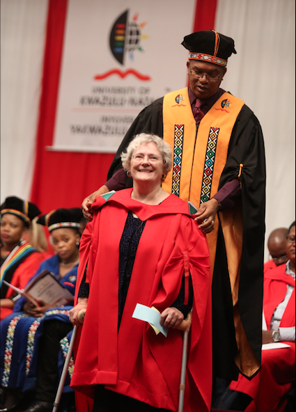 71-Year-Old UKZN Graduate: '10 Years Of Struggle – It Was Worth Every