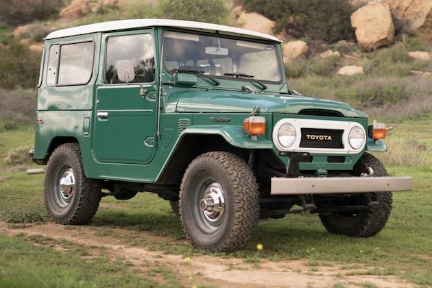 走行距離わずか8,473km! 新車同様に保存されていた1978年型トヨタ「ランドクルーザー」がオークションに出品中