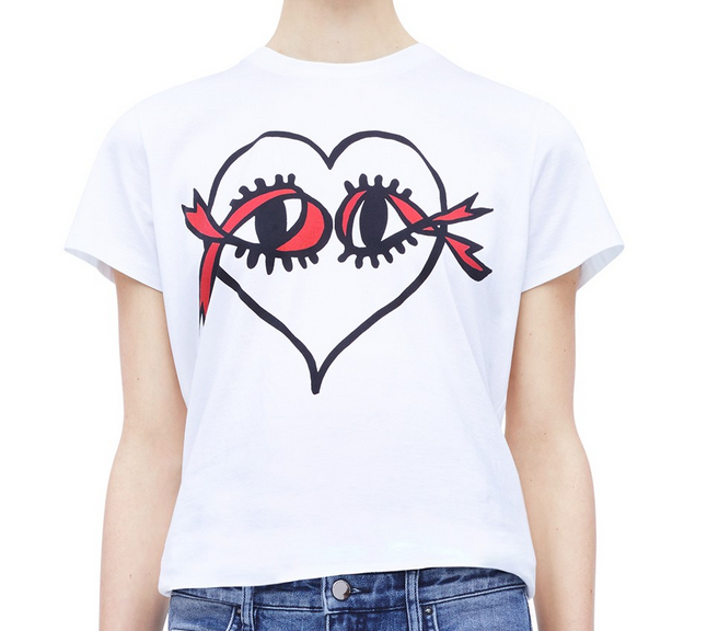 Victoria Beckham designs t-shirt for World AIDS Day